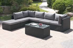 patio sectional sofa 410 outdoor patio 7pc sectional sofa set by poundex w options