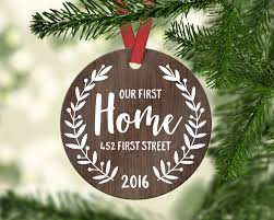 housewarming gifts for first home housewarming gift new home ornament christmas ornament first