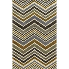 Rizzy Home Rugs Rizzy Home Grey Rockport Collection 100 Percent Wool Hand Tufted
