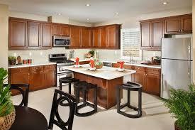 cherry wood kitchen island 50 gorgeous kitchen designs with islands designing idea