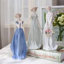 wedding figurines western characters home decor ceramic