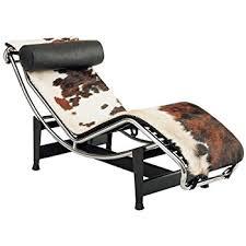 Leather Chaise Lounge Amazon Com Kardiel Le Corbusier Style Lc4 Chaise Lounge Cream