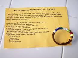 thanksgiving thanksgiving my montessori journey story bracelets