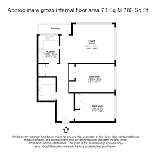 Walton House Floor Plan 2 Bed Flat For Sale In Wellington Close Walton On Thames Kt12