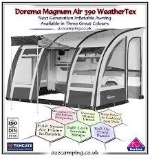 Starcamp Porch Awning 2018 Dorema Magnum Air 390 Inflatable Awning