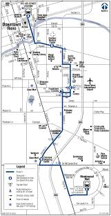 Reno Map Route 9 Kietzke Rtc Washoe