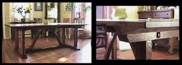 Arts And Crafts Dining Room Set Mission Arts And Crafts Dining Room Tables Chairs Furniture And