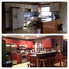 Rustoleum For Kitchen Cabinets Before And After Rust Oleum Cabinet Transformations Color