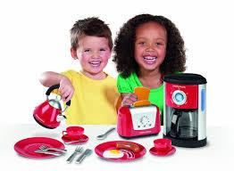 Toy Kitchen Set For Boys Casdon Morphy Richards Kitchen Set Walmart Com