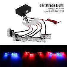 easy power emergency light 6x3 led universal car warning strobe flash warning ems police light
