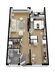 Organize Apartment by 40 More 1 Bedroom Home Floor Plans