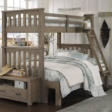 Plans For Bunk Bed With Trundle by Ne Kids Highlands Harper Twin Over Full Bunk Bed Hayneedle