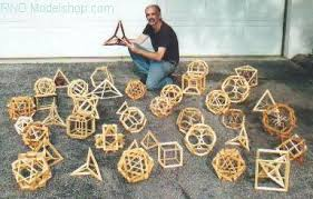 wood geometric rnd modelshop geodesic domes polyhedra models by nelson
