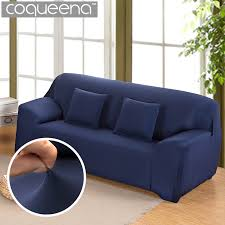 housses pour canapé solide couleur élastique stretch housse de canapé universel housses