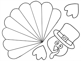 printable turkey cutout catchsplace club page 59 catchsplace club crafts