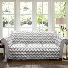 Grey Slipcover Sofa by Amazon Com Lush Decor Chevron Slipcover Furniture Protector For