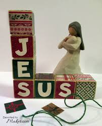 make your own jesus christmas blocks four additional block gifts