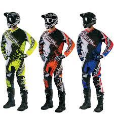 motorcycle wear element shocker youth motocross pants