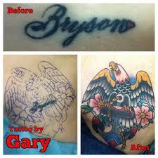 gary clark tattoo charlie u0027s on baltimore u0027s notorius block