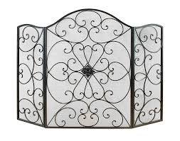 metal fireplace screen binhminh decoration