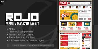 magazine layout templates from themeforest