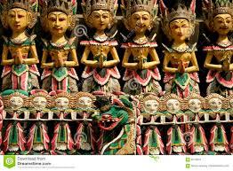 bali wood carving balinese woodcarving puppets ubud bali stock photo image 4687966