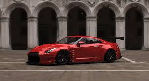 nissan gtr body kit nissan gtr with a bensopra body kit the same body as in fast 6