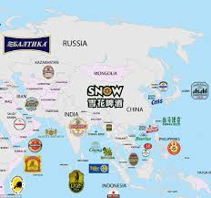 Ireland Location In World Map by World Beer Map Shows Every Country U0027s Most Popular Brew Daily