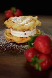 funnel cake ice cream sandwich recipe popsugar food