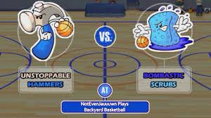 game 7 of backyard basketball unstoppable hammers vs bombastic