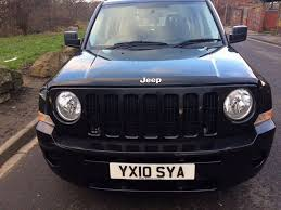 patriot jeep 2010 2010 jeep patriot sport 2 0 crd 6 speed 4 x 4 2 owners from new