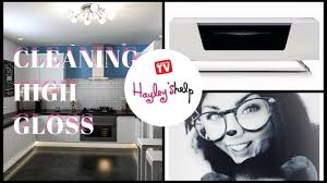 how to clean black gloss kitchen cupboards cleaning high gloss kitchen cabinets furniture surfaces clean with me