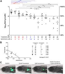 synergy between loss of nf1 and overexpression of mycn in