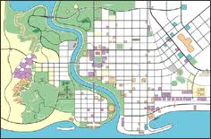 springfield map map of springfield simpsons earthli