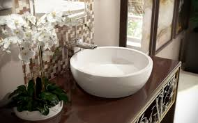 texture bowl wht round ceramic bathroom vessel sink regarding