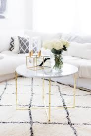 marble coffee tables for every budget the everygirl