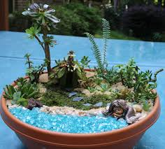 mermaid fairy garden gardens fairy gnomes miniature