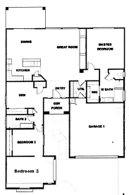 2 bedroom ranch floor plans 45 4 bedroom rambler house plans style house plan 3 beds 25 baths