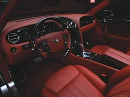 bentley flying spur black interior wald bentley continental flying spur 2006