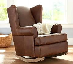 Leather Rocking Chairs For Nursery Rocking Chair Slipcovers For Nursery Reclining Rocker Chair