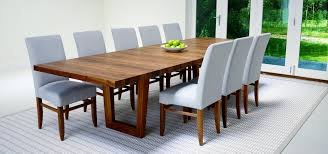 Solid Walnut Dining Table And Chairs Contemporary Dining Tables And Furniture By Berrydesign