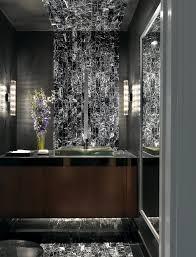 Luxury Powder Room Vanities Luxury Condominium Contemporary Powder Room St Louis By