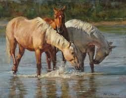 horse painting by phil beck art horses pinterest horse