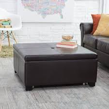 Black Leather Storage Ottoman 20 Types Of Ottomans Ultimate Ottoman Buying Guide