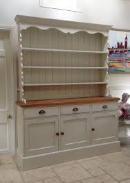 Free Woodworking Plans Welsh Dresser by Hand Painted Dresser Cream Solid Pine Welsh Dresser Sideboard