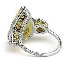 fancy yellow diamond engagement rings jean jewelers