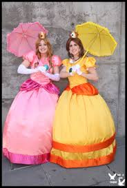 super smash bros costumes halloween princess peach and daisy by ttcosplay on deviantart costume