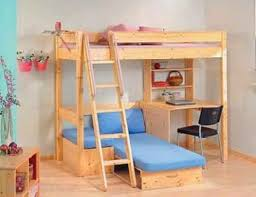 Bunk Bed With Sofa by Loft Beds With Couch Underneath Pine High Sleeper Bunk Bed