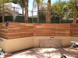 hotel pool area trellis fencing 6 13 woodland hills calabasas