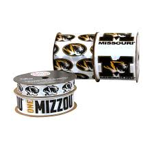 Mizzou Home Decor Amazon Com Offray University Of Missouri Tigers Printed Craft